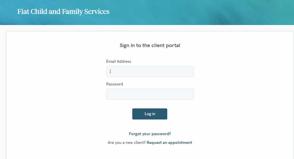 Fiat Family Services Paperless Intake 2
